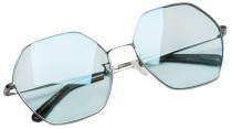Сонцезахисні окуляри Xiaomi TS Fashion Sunglasses Six Lines Shape Romb Silver Blue SM086-0205