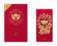 Золотий злиток Xiaomi LuckyME Red Envelopes 0.2 г