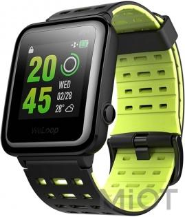 Розумний годинник WeLoop Hey 3S Black Green купити у Києві 07950f05199e0