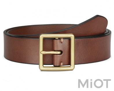 Ремінь шкіряний QIMIAN Cowboy casual Belt Brown M (100 см) купити у ... 567240bc6c11b
