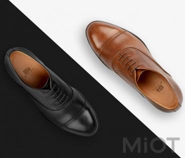 Чоловічі туфлі Qimian Oxford Shoes Black 43 купити у Києві 3c346777a8f49