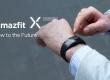 Смарт-годинник Amazfit X отримали вигнутий дисплей AMOLED і приймач GPS