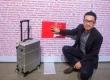 RunMi 90 Points Smart Metal Suitcase Silver - чемодан з Bluetooth, який отримав «Оскар» світу дизайну!