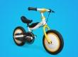 Особливості безпечного дитячого велосипеда QiCycle Kids
