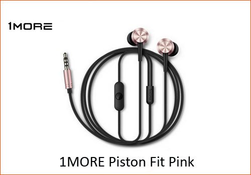 Xiaomi 1MORE Piston Fit Pink