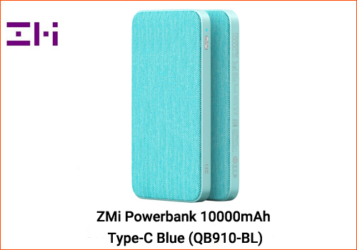 ZMi powerbank 10000mAh Type-C Blue (QB910-BL)
